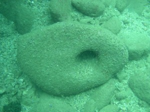 עוגן אבן קדום בקיסריה העתיקה