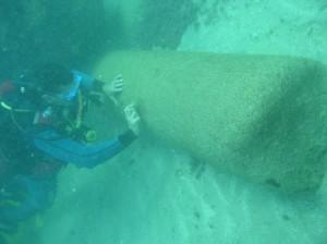 ארכיאולוגיה ימית בנמל קיסריה
