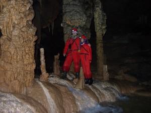 """""""הפרדייז"""" במערת קריז'נה ימה שבקארסט בדרום סלובניה"""