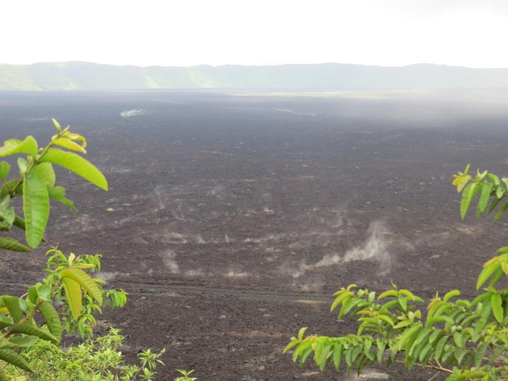 הר הגעש סיירה נגרה באי איזבלה בגלפגוס