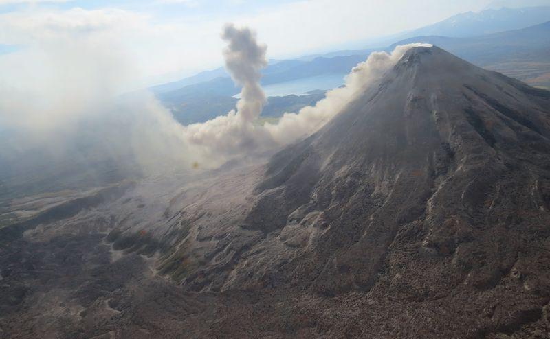 הר געש בעמק הגייזרים