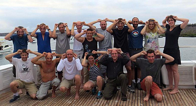 ספארי צלילה בגלפגוס יולי 2014